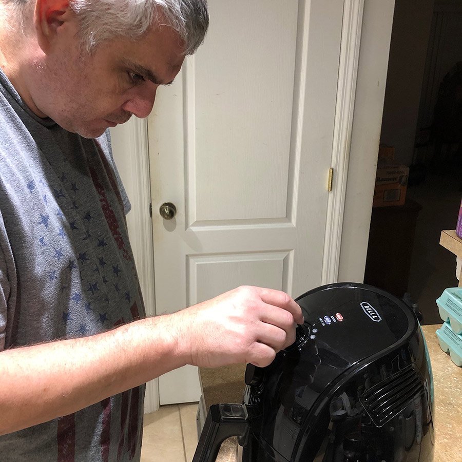 Joe Monks and an Air Fryer